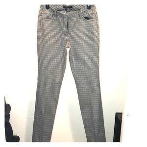 Size 2 black and white Etcetera slacks